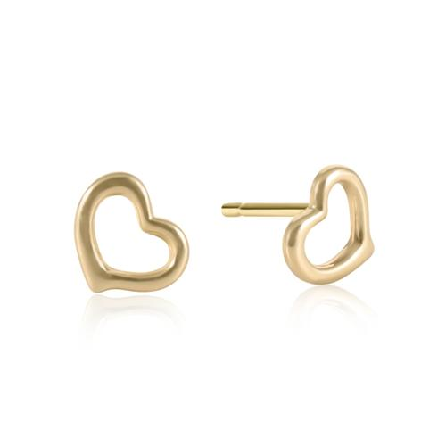 enewton Love Stud Gold Earring