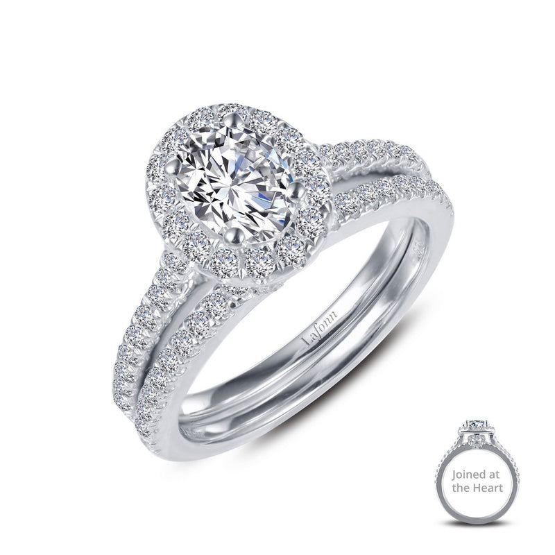 Lafonn Joined-At-The-Heart Wedding Set