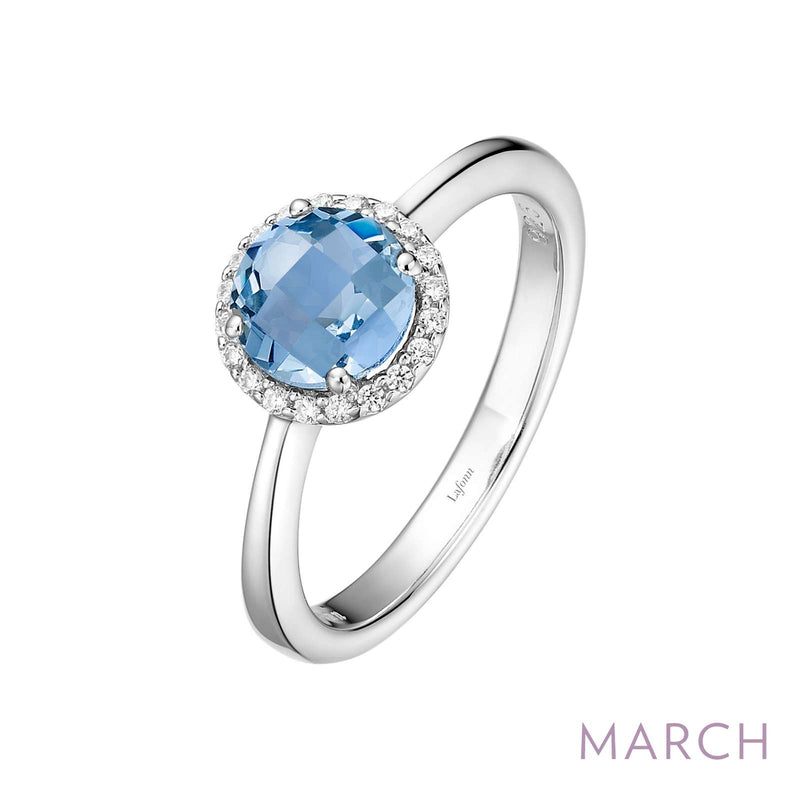 Lafonn March Birthstone Ring