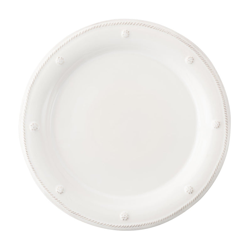 JULISKA BERRY AND THREAD WHITEWASH DESSERT PLATE