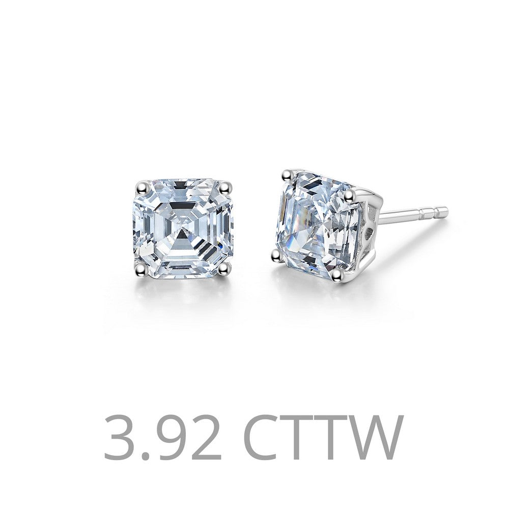 Lafonn 3.92 ct tw Stud Earrings
