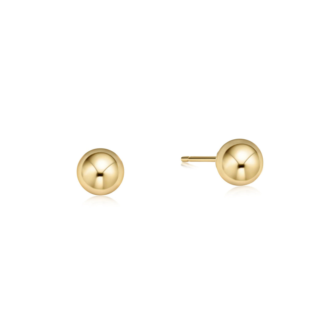 enewton Classic 6mm Ball Stud - gold