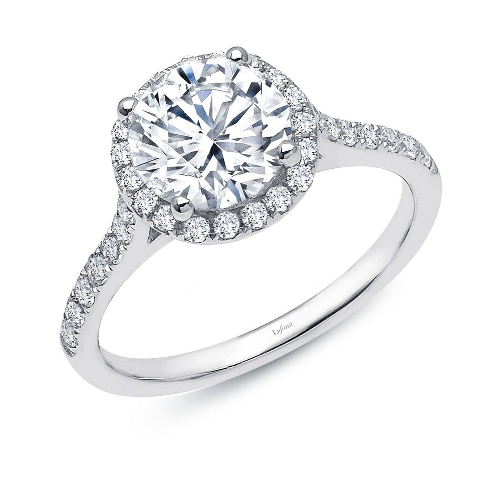Lafonn 2.51 ct tw Halo Engagement Ring