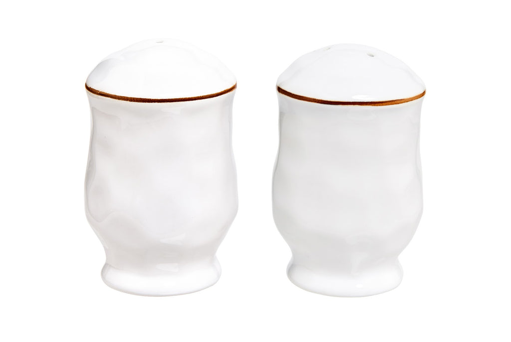 SKYROS SALT AND PEPPER SHAKERS