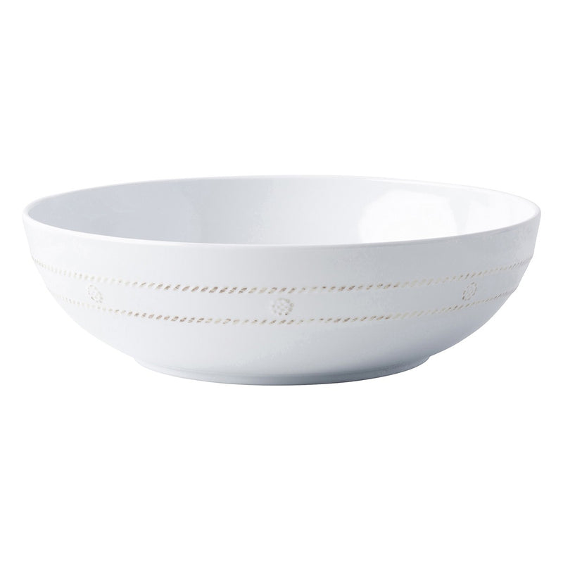 JULISKA BERRY & THREAD MELAMINE WHITEWASH 12' BOWL