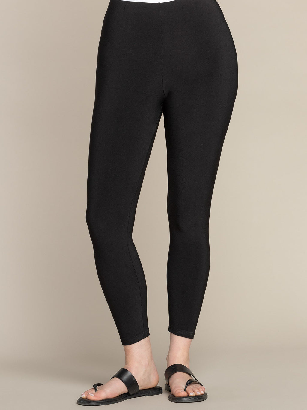 SYMPLI PLAIN LEGGINGS BLACK