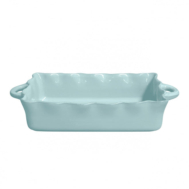 CASAFINA  COOK & HOST LARGE RECTANGULAR RUFFLED BAKER