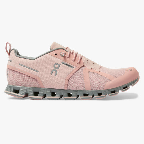 Women's On Cloud Waterproof in Rose/Lunar