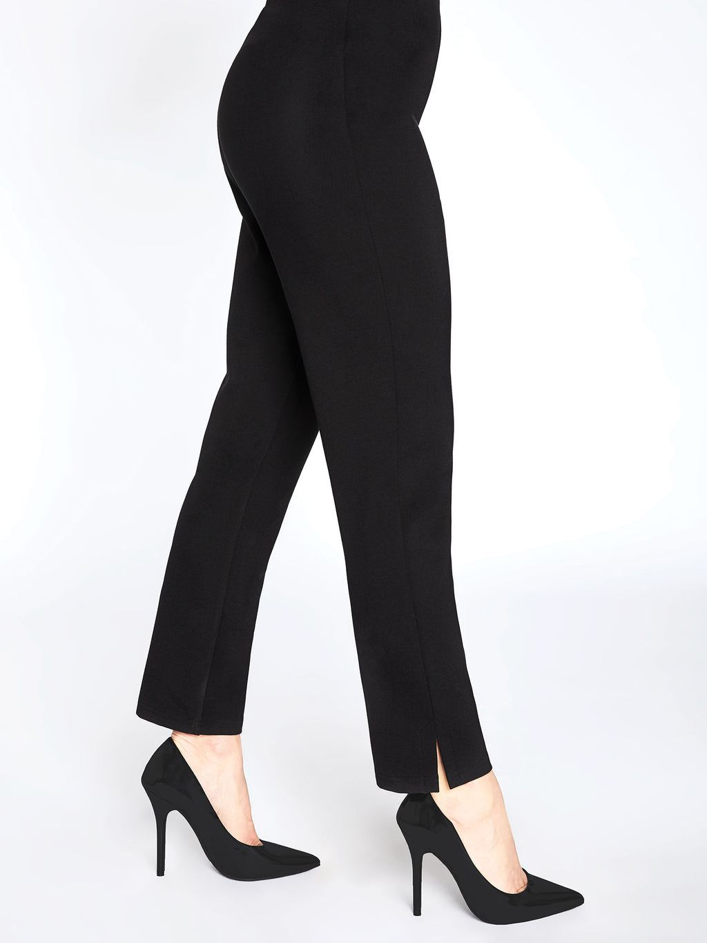 Sympli Narrow Pant Midi Black