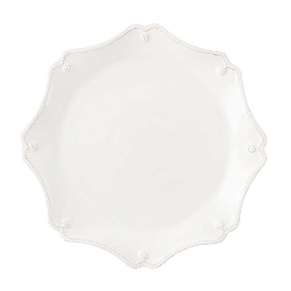 Juliska Berry & Thread Whitewash Scalloped Charger Plate