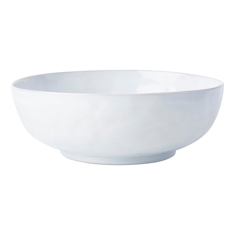 "Juliska Quotidien White Truffle 14"" Serving Bowl"