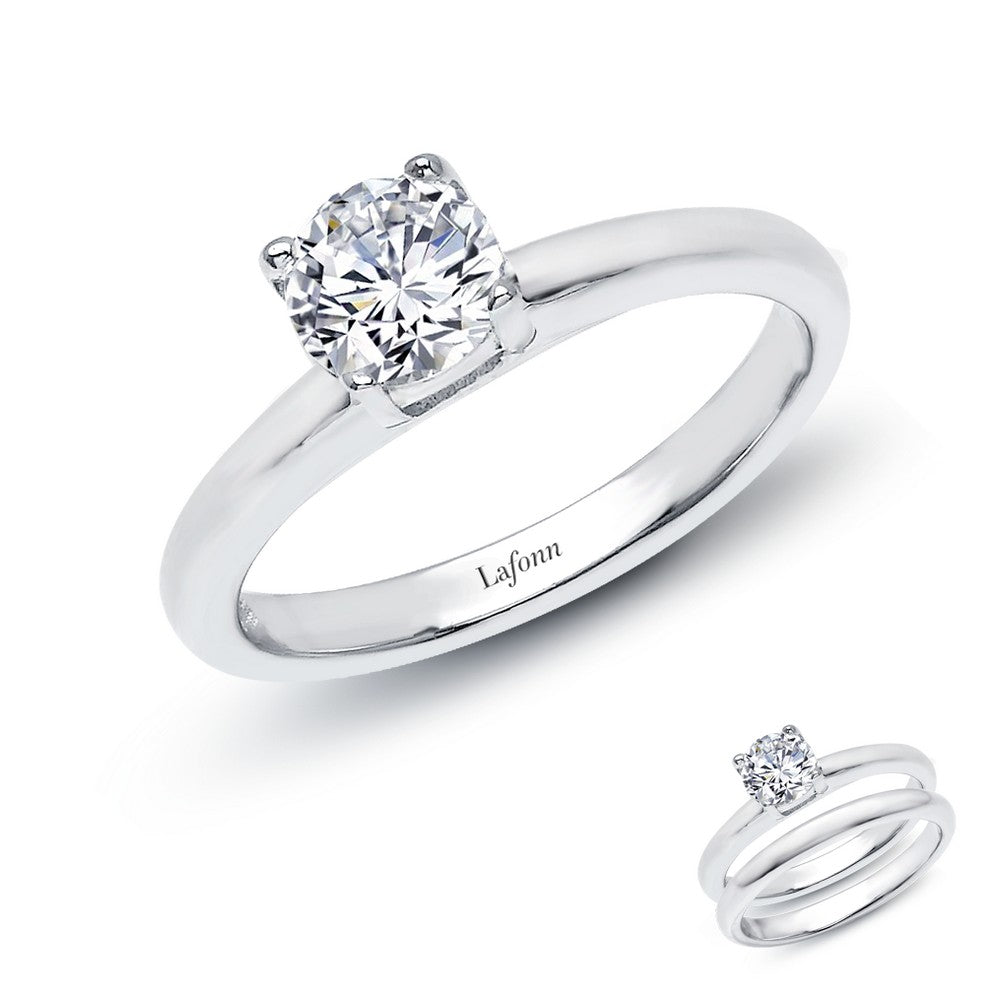 Lafonn 1.03 ct tw Solitaire Engagement Ring