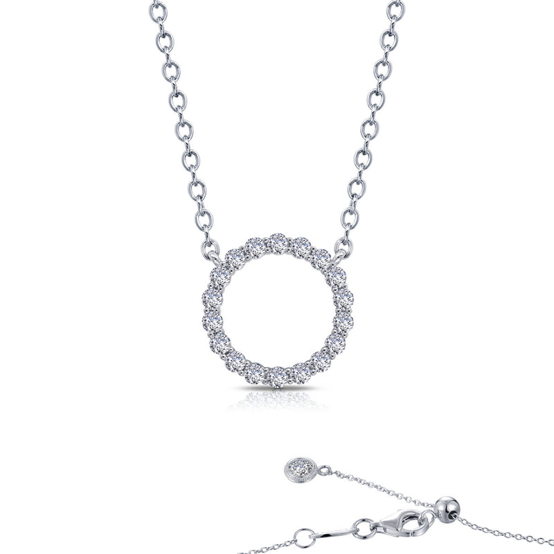 Lafonn 1.15 ct tw Open Circle Necklace