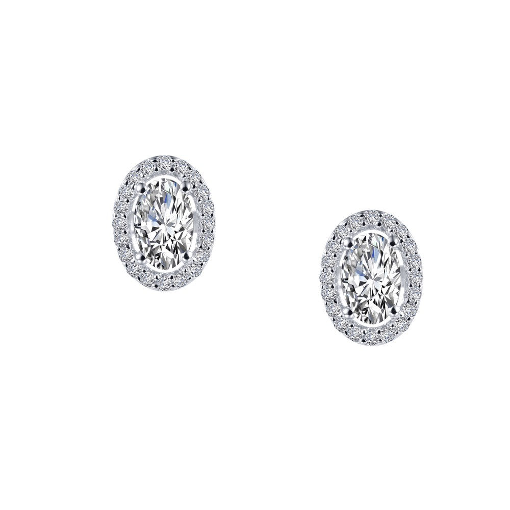 Lafonn 1.26 ct tw Halo Stud Earrings