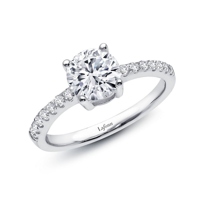 Lafonn 1.54 ct tw Solitaire Engagement Ring