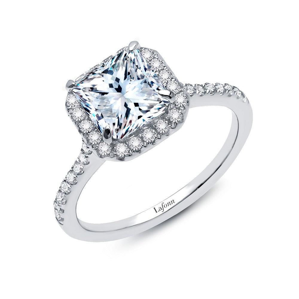 Lafonn 2.34 ct tw Halo Engagement Ring