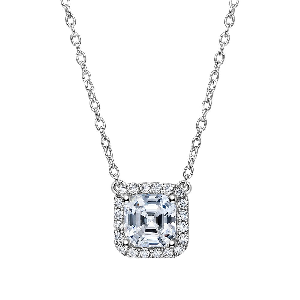 Lafonn 2.36 ct tw Halo Necklace