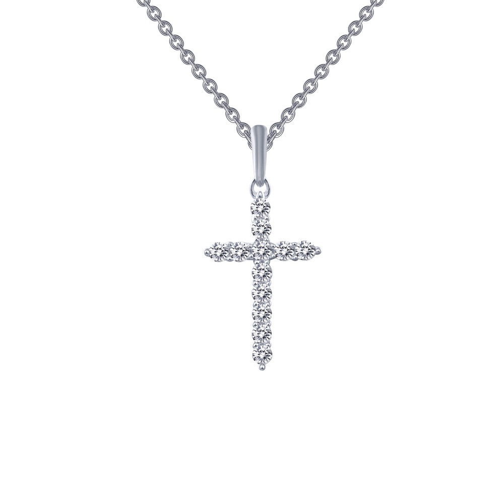 Lafonn 0.36 ct tw Cross Pendant Necklace