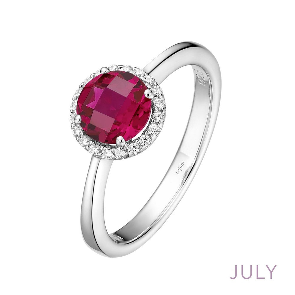 Lafonn July Birthstone Ring
