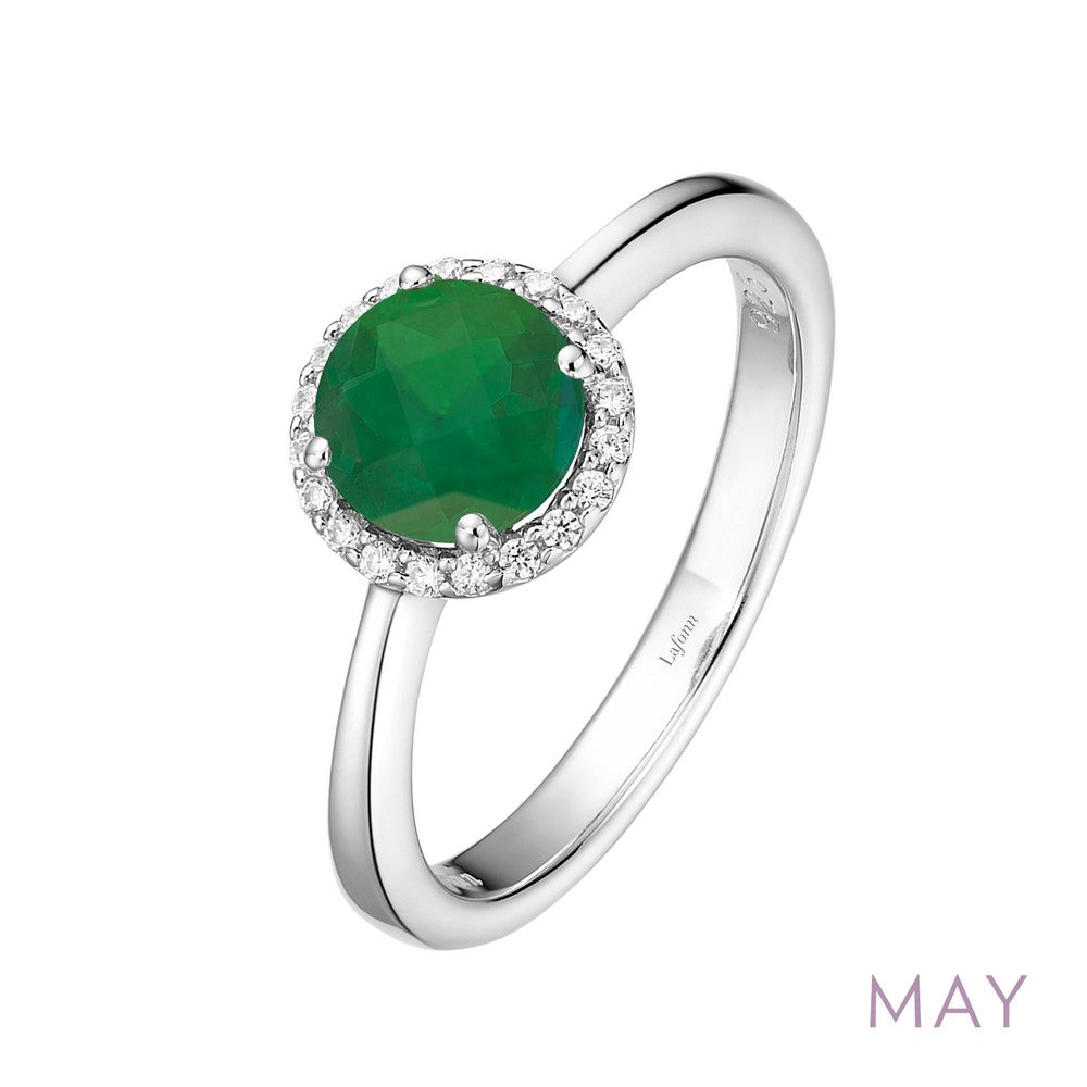 Lafonn May Birthstone Ring