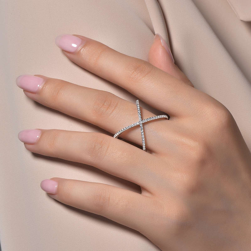 Lafonn Simple Crisscross Ring