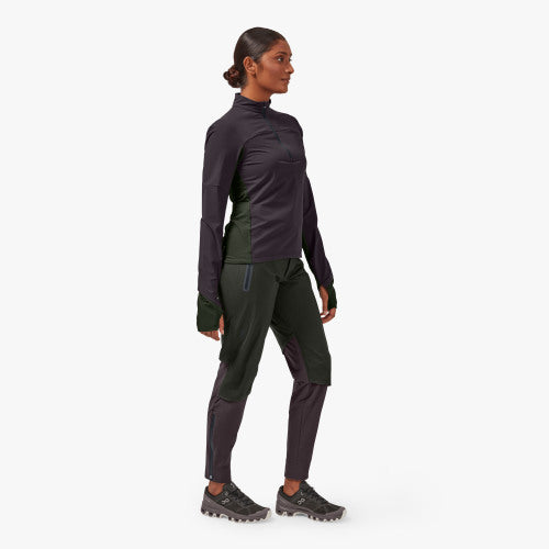 Women's On Waterproof Pants in Shadow/Pebble