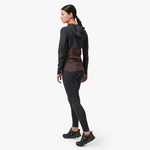 Women's On Weather Jacket in Black/Pebble