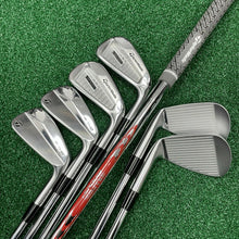 Load image into Gallery viewer, TAYLORMADE P760/P7MB COMBO SET / 4-PW / NIPPON MODUS 3 120 X FLEX SHAFTS