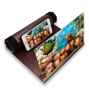 Screen Magnifier 3D Smart Mobile Phone Movies
