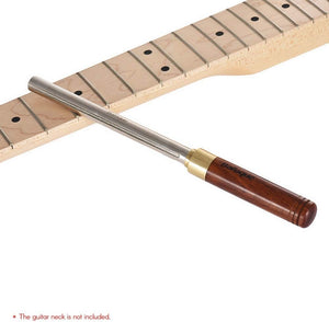 Luthier Tool guitar frets file, metal file with 3 sizes of edges