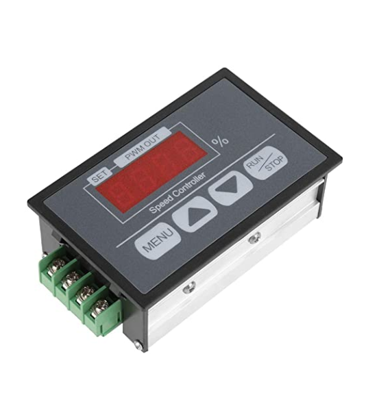Water Flow Controller with Digital Display In Housing