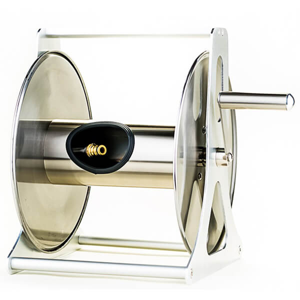 Stainless Steel Hose Reel - Empty
