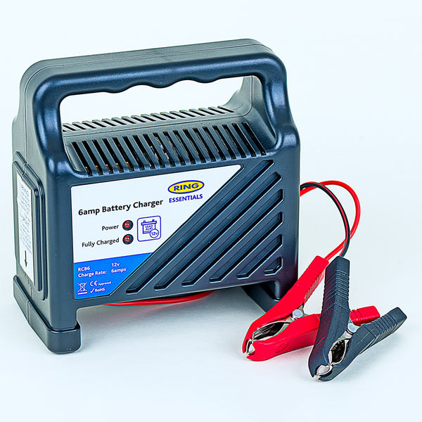 12 V Battery - Charger - 4 AMP