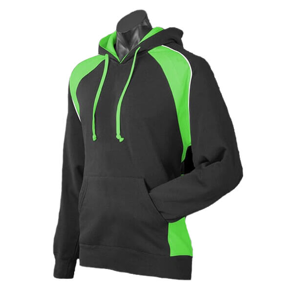 Pura Flo Work Wear - Hoody (Green/Black)