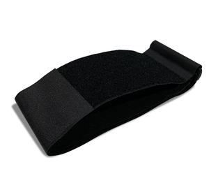 Strap for the 4ARM STRONG device which expands to fit users with larger forearms to treat forearm and elbow pain.