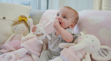 Knitted Toys, Soft Rattles, and Your Baby's Understanding of the World