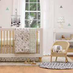 Lolli Living Collection in a modern white nursery