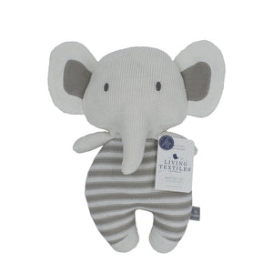 Cotton Knitted Toy - Eli Elephant