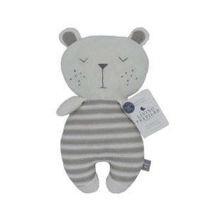 Cotton Knitted Toy - Brooklyn Bear