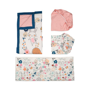 4pc Crib Bedding Set - Stella