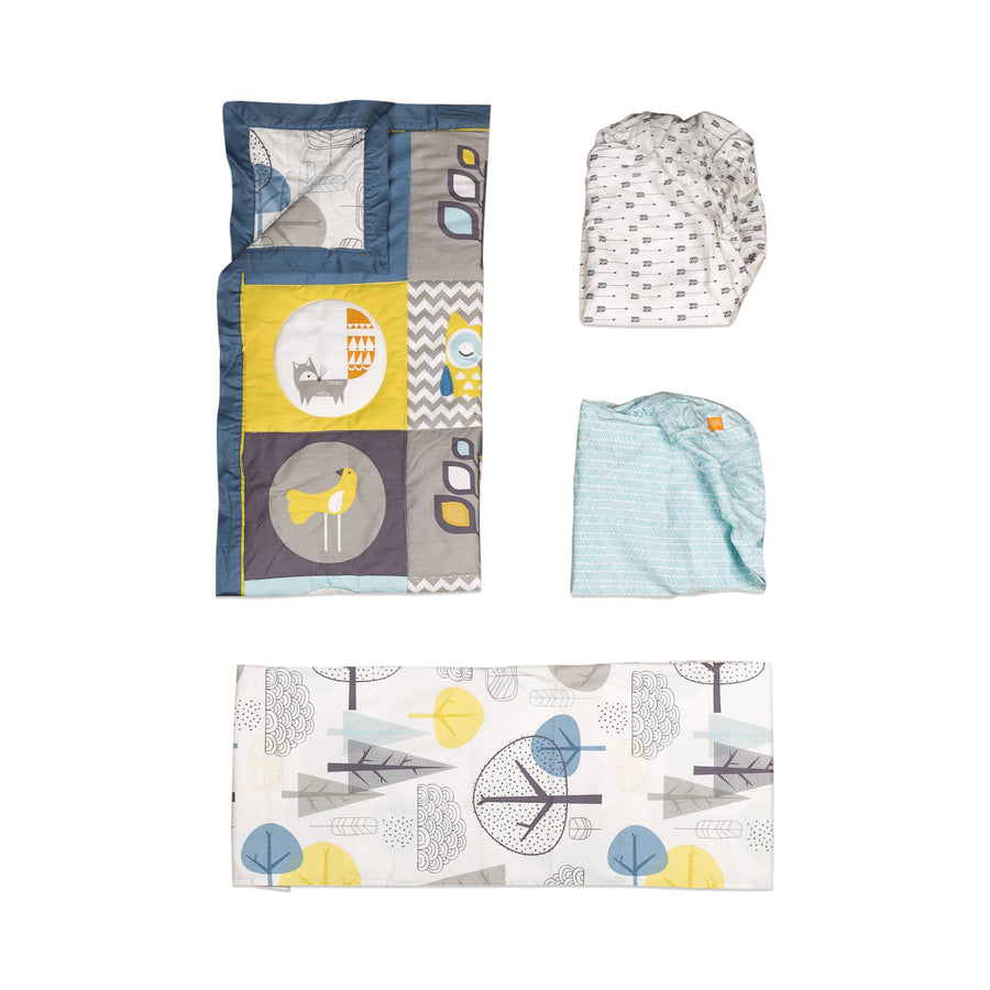 4pc Crib Bedding Set - Woods | Living Textiles Co.