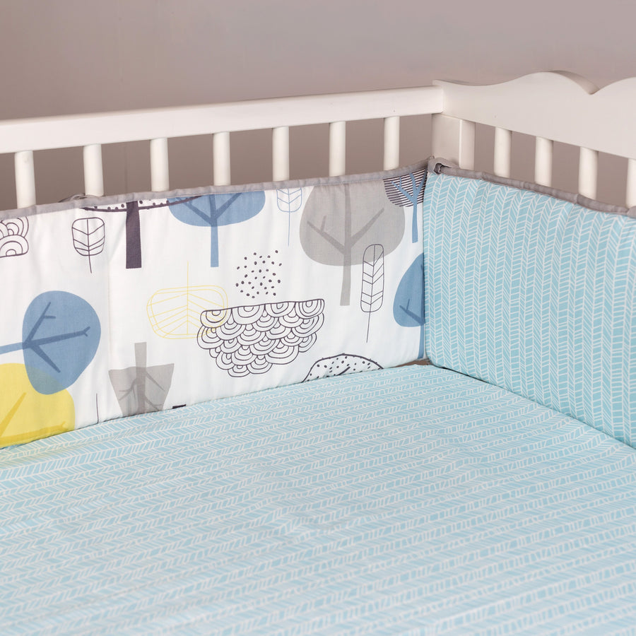In The Woods Crib Bumper - Living Textiles Co.