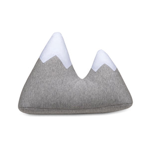 2pc Baby Set - Peaks Sherpa Baby Blanket + Mountains Cushion