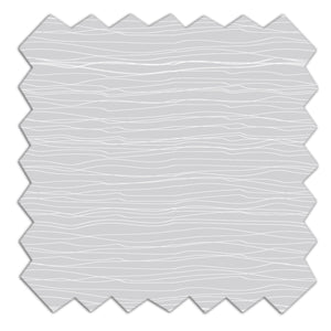 Jersey Crib Fitted Sheet - Grey Crinkle