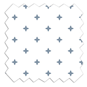 Jersey Crib Fitted Sheet - Starry Night
