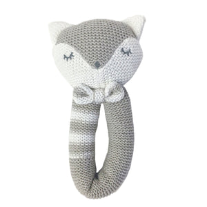 Knitted Rattle - Charley Fox