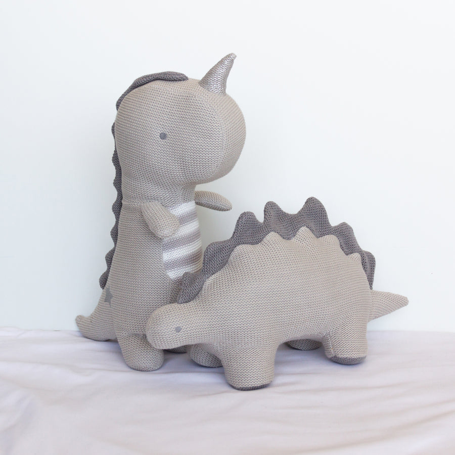 Knitted Toy - Shiloh Stegosaurus