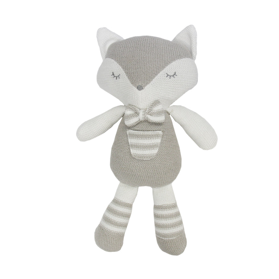Knitted Toy - Charley Fox (Pre-Order ETA 5/28/2019)