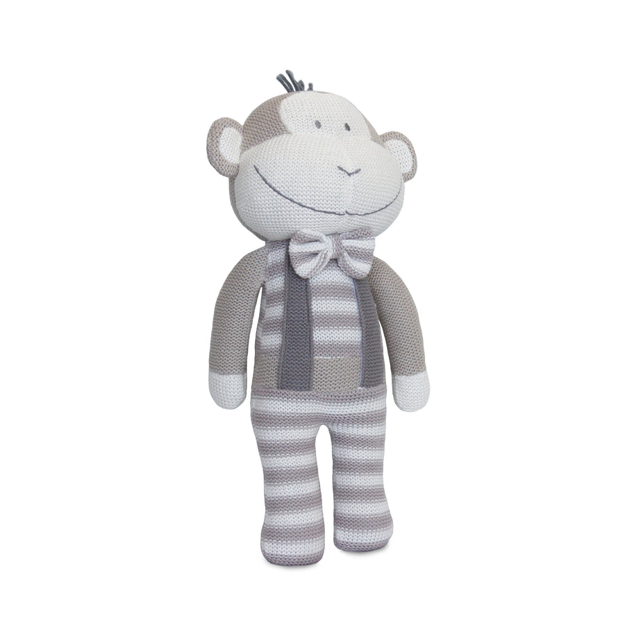 Knitted Toy - Joe Monkey