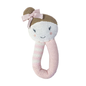 Knitted Rattle - Amy Mermaid